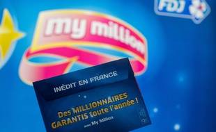 Illustration du jeu My Million de la Française des Jeux.