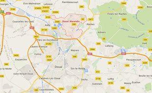 La commune de Roost-Warendin, près de Douai dans le Nord.