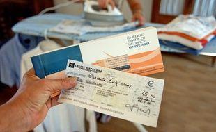 Le chèque Emploi Service Universel permet de payer un ensemble de services a la personne.