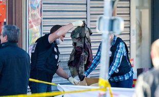 Trois  militaires en tenue ont été la cible de coups de feu, le 15 mars 2012 à Montauban.