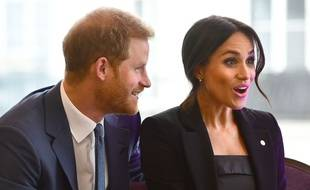 Le prince Harry et Meghan Markle, duc et duchesse de Sussex, lors des WellChild Awards au Royal Lancaster Hotel de Londres, en septembre 2018.