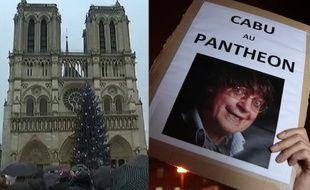 Les cloches de Notre-Dame, le Panthéon, ... autant d'entorses à l'esprit Charlie...