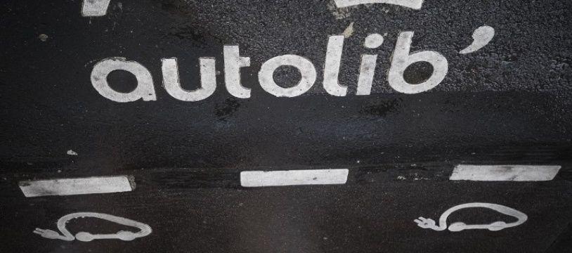 Un emplacement Autolib' à Paris (image d'illustration).