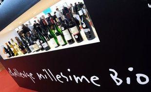 """Le vin issu de l'agriculture biologique est depuis quelques années en pleine progression en France où il grignote des parts de marchés, comme en témoigne la 19e édition du salon """"Millésime bio"""" qui se tient jusqu'à mercredi à Montpellier."""