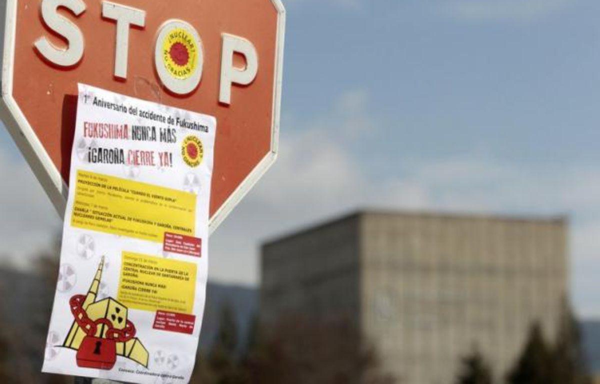 La plus ancienne centrale nucléaire d'Espagne, à Garoña, dans le nord, devrait fermer définitivement avant le 31 décembre, six mois plus tôt que prévu, en raison du surcoût lié à l'entrée en vigueur en 2013 d'une nouvelle loi sur l'énergie, a annoncé vendredi son exploitant. – Cesar Manso afp.com