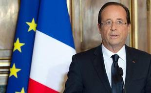 François Hollande à Tulle, le 09 juin 2012.