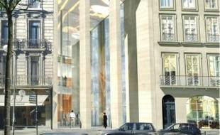 Le projet prévoit notamment une salle  de spectacle cours Clemenceau.