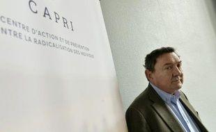 Le Dr Bernard Antoniol, pilote du volet psychiatrique pour le Centre d'action et de prévention contre la radicalisation des individus, à Bordeaux, le 25 mars 2016