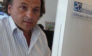 Renaud Leblond, l'auteur du livre «Le Pouvoir de sectes»