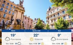 Météo Grenoble: Prévisions du jeudi 9 septembre 2021