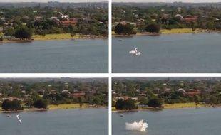 Un avion de tourisme s'est écrasé dans une rivière à Perth en Australie.