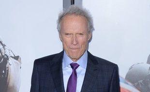 L'acteur Clint Eastwood