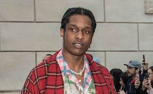 La rappeur ASAP Rocky au défilé Gucci Rome en mai 2019