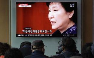 L'ex-présidente sud-coréenne Park Geun-hye a été jugée coupable d'abus de pouvoir.