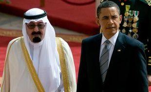 """Barack Obama va se rendre le mois prochain en Arabie saoudite, allié de longue date des Etats-Unis avec lequel les relations se sont tendues sur fond de """"printemps arabe"""" et d'accord nucléaire avec l'Iran."""