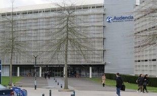 Nantes, le 3 mars 2016, l'école de commerce et de management Audencia
