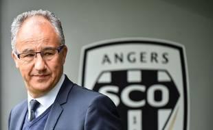 Saïd Chabane, le président d'Angers, ici le 28 avril 2019.