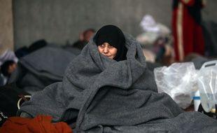 Une civile à Alep.