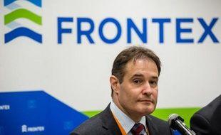 Le directeur de l'agence européenne Frontex, Fabrice Leggeri, à Varsovie le 21 mai 2015