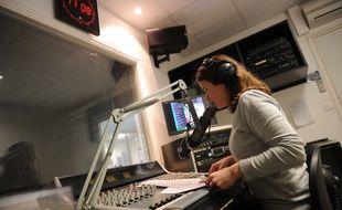 Studio de radio (Illustration)