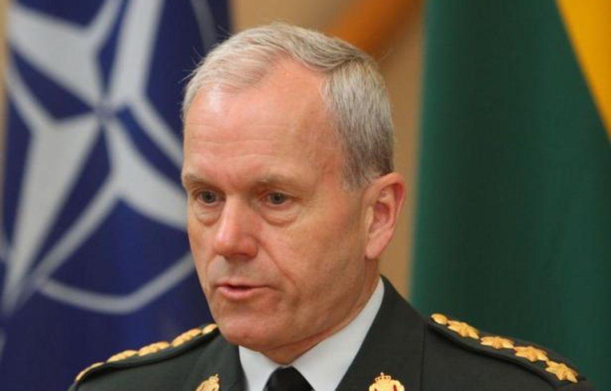 Le général Knud Bartels, président du Comité militaire de l'OTAN, a déclaré jeudi à Tallinn qu'il n'y aurait pas d'intervention militaire de l'Otan en Syrie, pas plus qu'en Iran, tant que toutes les solutions politiques n'auraient pas été épuisées. – Petras Malukas afp.com