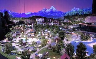 Lyon, le 28 juin 2018 Mini World, le premier parc de mondes miniatures animés a été inauguré le 28 juin 2016 au Carré de Soie à Vaulx-en-Velin