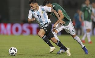 Leandro Paredes compte 9 sélections avec l'équipe d'Argentine.