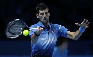Novak Djokovic en mode croisière à Londres.