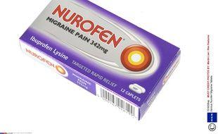 Une boîte de Nurofen.
