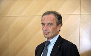 Henri Proglio, PDG d'EDF, le 25 juin 2014 au siège de l'entreprise à Paris