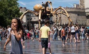 L'araignée géante de la compagnie La Machine.