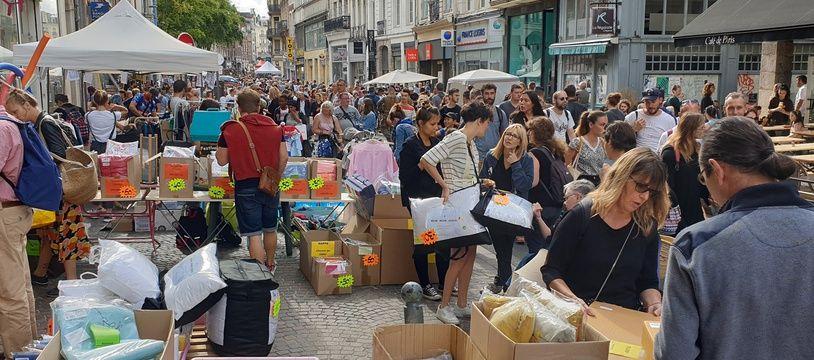 La grande braderie de Lille. (Archives)
