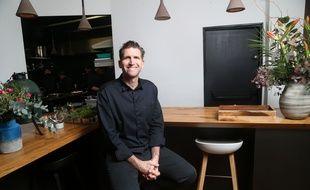 Alexandre Mazzia, chef trois étoiles de son propre restaurant AM à Marseille.