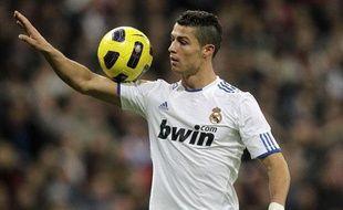 Cristiano Ronaldo a inscrit un triplé samedi avec le Real Madrid contre l'Athletic Bilbao (5-1).