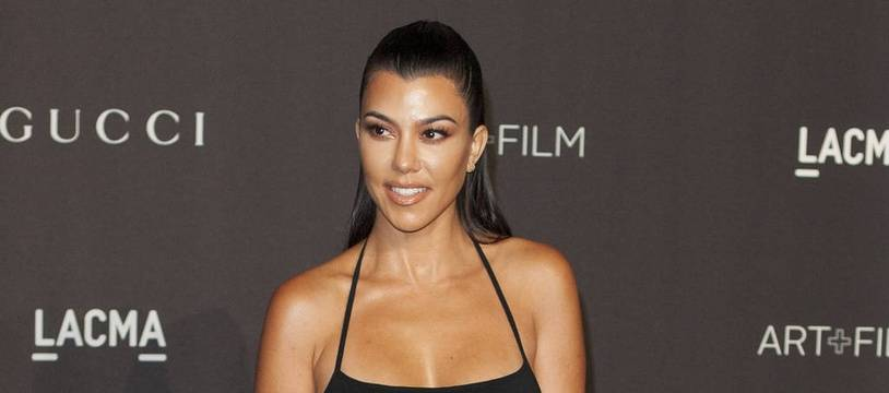 La star de téléréalité Kourtney Kardashian
