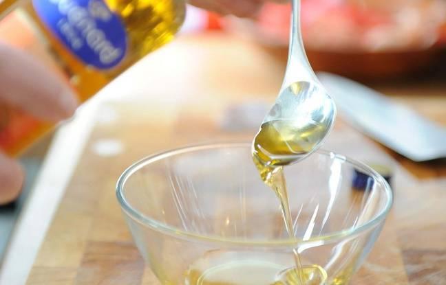 Illustration de l'huile de noix.