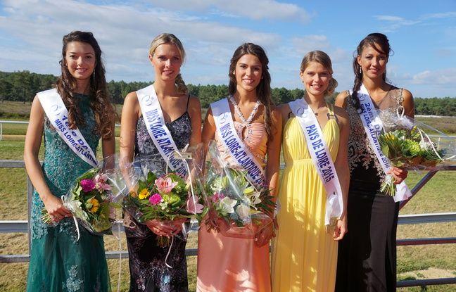 Miss Loire-Atlantique et ses dauphines
