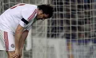 A l'image du latéral gauche italien Massimo Oddo, le Bayern Munich a passé une sale soiré à Barcelone (4-0)
