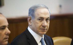 Le Premier ministre israélien Benjamin Netanyahu, le 7 décembre 2014 à Jérusalem