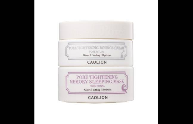 Le Pore Tightening Day & Night Glowing Duo de la marque Caolion