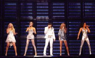 Les Spice Girls chantent aux JO de Londres en 2012.