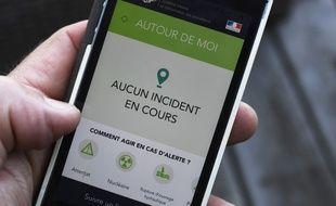 L'application d'alerte SAIP a été lancée en 2016 par le gouvernement, à la veille de l'Euro de football.