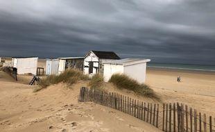 Les chalets de Blériot plage, près de Calais, doivent être détruit par leurs propriétaires d'ici à la fin du mois de février.