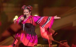 Netta représentante d'Israël à l'Eurovision 2018.