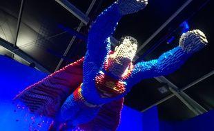 L'exposition The Art of the Brick LEGO®:DC Super Heroesse tient à Paris, du 29avril au 19août 2018.
