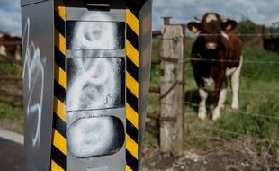 Un radar automatique vandalisé à Strazeele (image d'illustration).