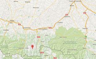 La commune d'Oô, dans le sud de la Haute-Garonne.