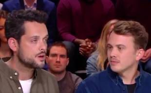 Extrait de l'émission «Quotidien» du 4 février 2019, avec les journalistes Pierre Caillet et Baptiste des Monstiers