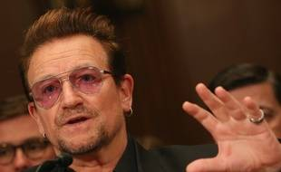 Bono, le 12 avril 2016, à Washington.