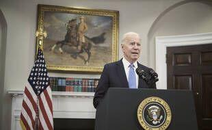 Joe Biden à la Maison-Blanche, le 13 mai 2021 (illustration).